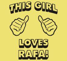 Girls love Rafa Nadal Kids Clothes