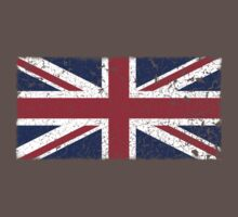 Vintage look Union Jack Flag of Great Britain Kids Clothes