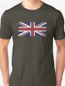Vintage look Union Jack Flag of Great Britain T-Shirt