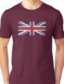 Vintage look Union Jack Flag of Great Britain Unisex T-Shirt