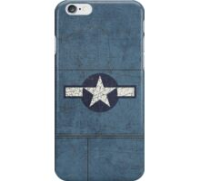 Vintage Look USAAF Roundel Graphic iPhone Case/Skin