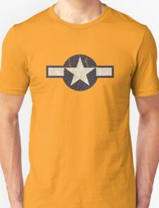 Vintage Look USAAF Roundel Graphic Unisex T-Shirt