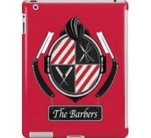 The barbers iPad Case/Skin