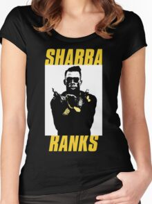 Shabba Ranks Women's Fitted Scoop T-Shirt