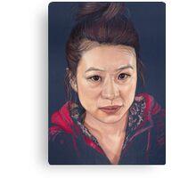 Elaine, demo version Canvas Print
