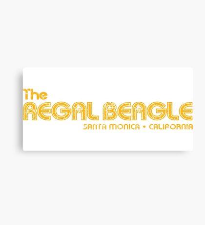 The Regal Beagle Canvas Print