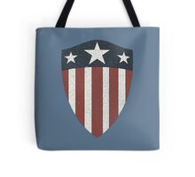 Vintage Look USA WW2 Captain America Style Shield Tote Bag