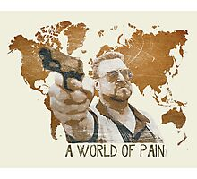 A World Of Pain Photographic Print