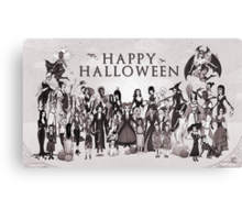 Ladies of Halloween! Canvas Print