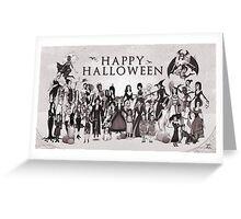 Ladies of Halloween! Greeting Card