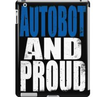 Autobot AND PROUD iPad Case/Skin