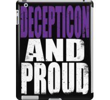 Decepticon AND PROUD iPad Case/Skin
