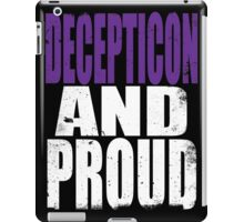 Decepticon AND PROUD iPad Case/Skin