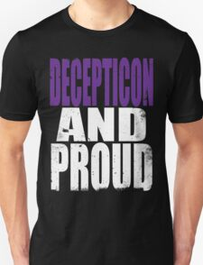 Decepticon AND PROUD T-Shirt