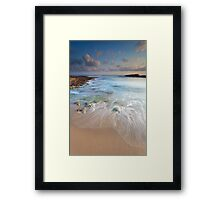 Early morning at Crete Framed Print