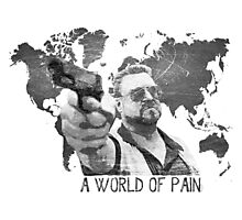 A World Of Pain b Photographic Print