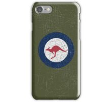 Vintage Look Royal Australian Air Force Roundel  iPhone Case/Skin