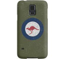 Vintage Look Royal Australian Air Force Roundel  Samsung Galaxy Case/Skin