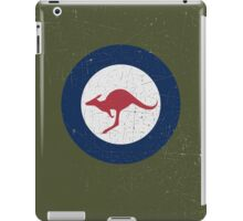 Vintage Look Royal Australian Air Force Roundel  iPad Case/Skin
