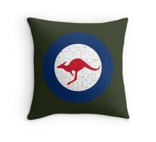 Vintage Look Royal Australian Air Force Roundel  Throw Pillow