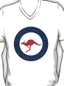 Vintage Look Royal Australian Air Force Roundel  T-Shirt