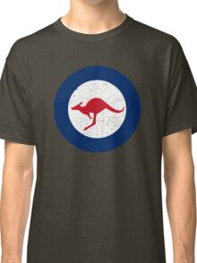 Vintage Look Royal Australian Air Force Roundel  Classic T-Shirt