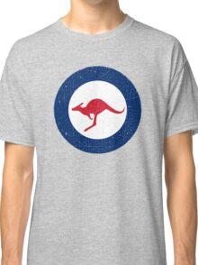 Vintage Look Royal Australian Air Force Roundel  Classic T-Shirt