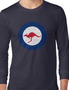 Vintage Look Royal Australian Air Force Roundel  Long Sleeve T-Shirt
