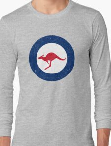 Vintage Look Royal Australian Air Force Roundel  Long Sleeve T-Shirt