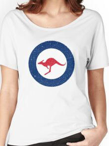 Vintage Look Royal Australian Air Force Roundel  Women's Relaxed Fit T-Shirt