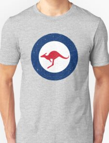 Vintage Look Royal Australian Air Force Roundel  Unisex T-Shirt