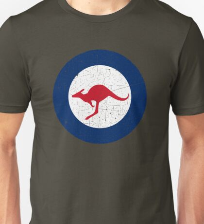 Vintage Look Royal Australian Air Force Roundel  Unisex T-Shirt