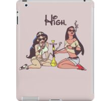 Princess High iPad Case/Skin