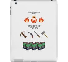 It's Dangerous iPad Case/Skin