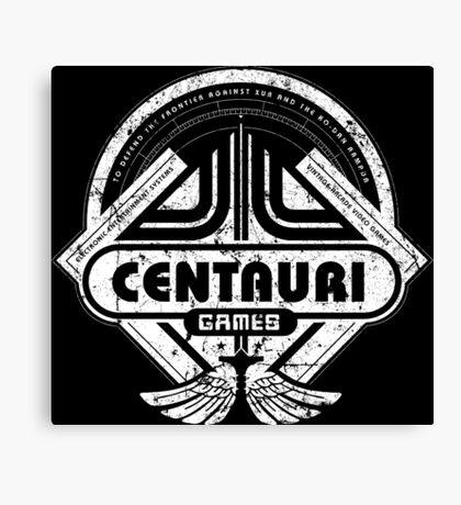 Centauri Games Canvas Print