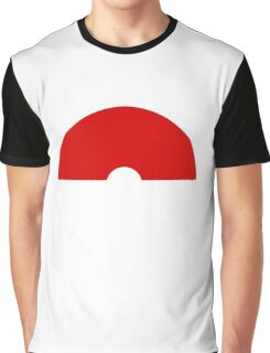 Minimalist Poke Ball Graphic T-Shirt
