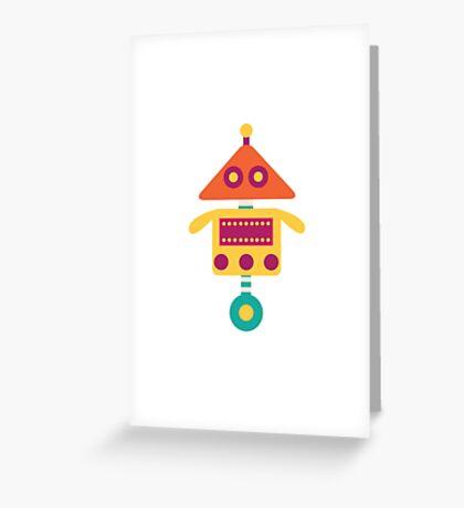 MY ROBOT FRIEND - 2 Greeting Card