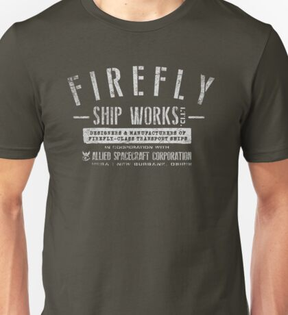 Firefly Ship Works Unisex T-Shirt