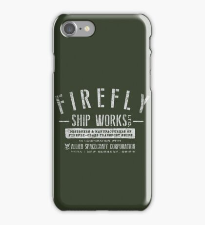 Firefly Ship Works iPhone Case/Skin