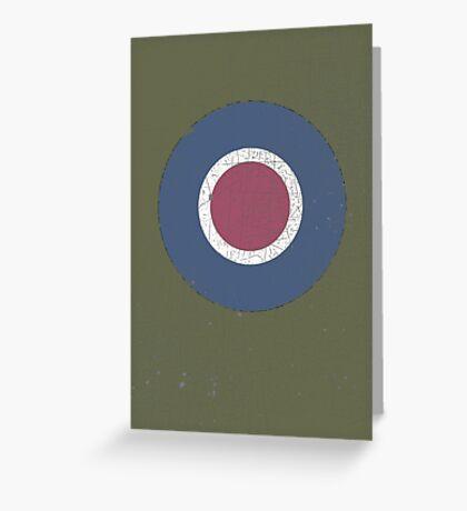 Vintage Look WW2 British Royal Air Force Roundel Greeting Card