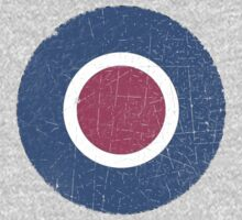 Vintage Look WW2 British Royal Air Force Roundel Kids Clothes