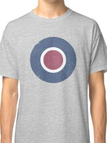 Vintage Look WW2 British Royal Air Force Roundel Classic T-Shirt