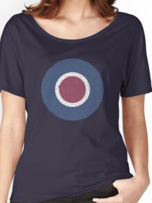 Vintage Look WW2 British Royal Air Force Roundel Women's Relaxed Fit T-Shirt