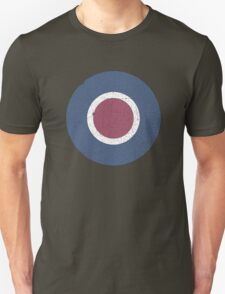 Vintage Look WW2 British Royal Air Force Roundel T-Shirt