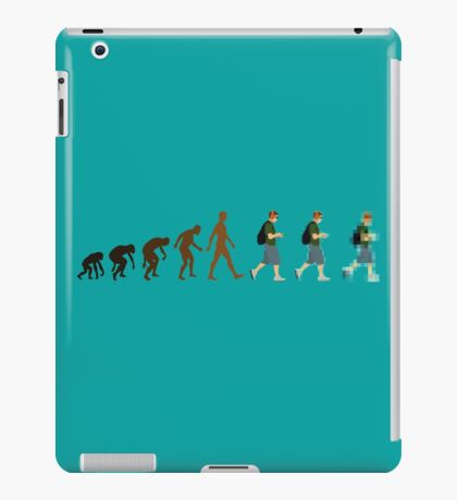 Evolution of Geeks iPad Case/Skin