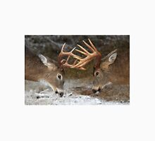 Clash of the Titans - White-tailed deer Bucks T-Shirt