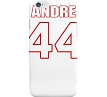 NFL Player Andre Williams fortyfour 44 iPhone Case/Skin