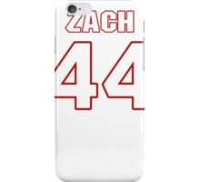 NFL Player Zach Sudfeld fortyfour 44 iPhone Case/Skin