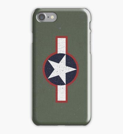 Vintage Look US Forces Roundel 1943 iPhone Case/Skin