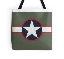 Vintage Look US Forces Roundel 1943 Tote Bag